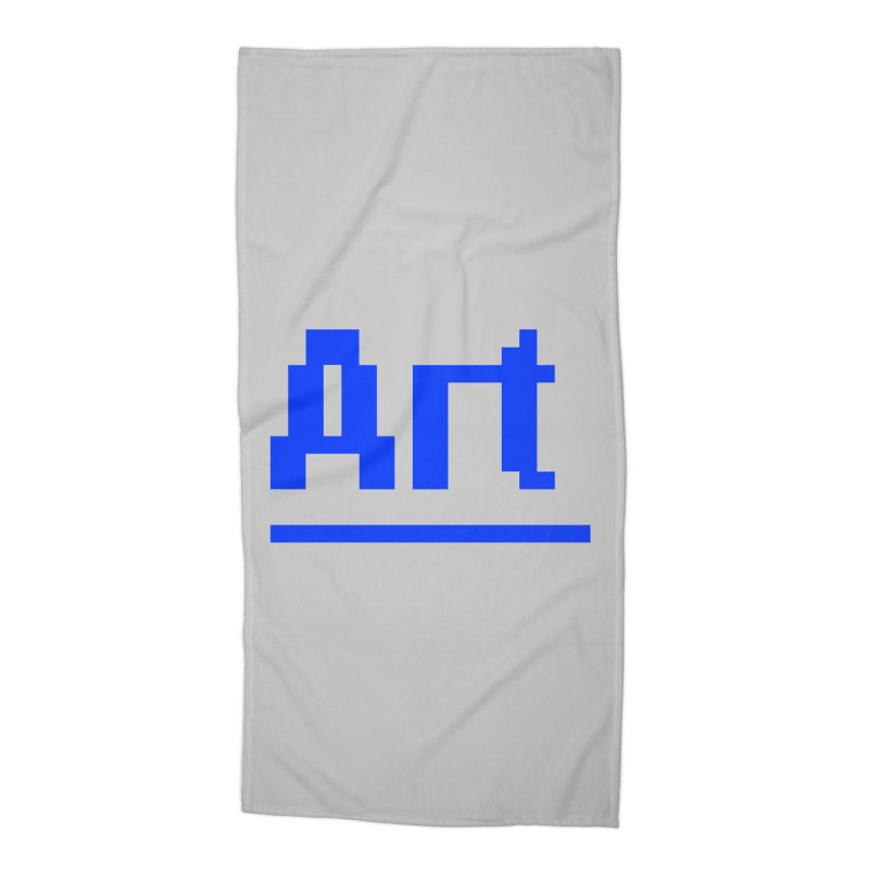 Art Accessories Beach Towel by Make with Jake Nickell, The Coolest Dude on Earth!