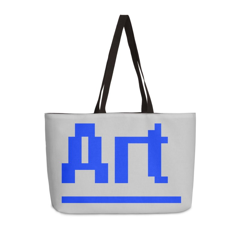Art Accessories Weekender Bag Bag by Make with Jake Nickell, The Coolest Dude on Earth!