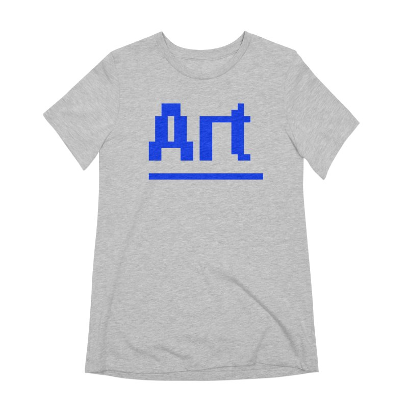 Art Women's Extra Soft T-Shirt by Make with Jake Nickell, The Coolest Dude on Earth!