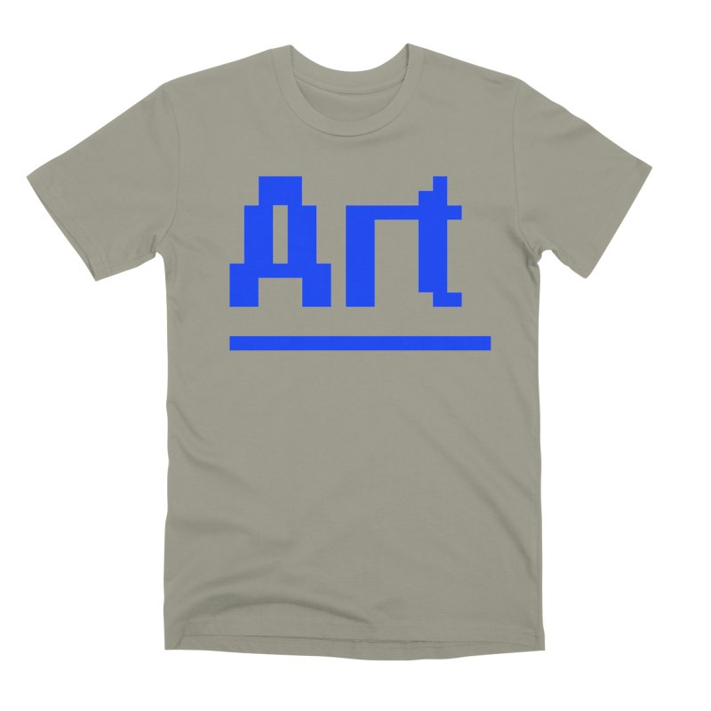 Art Men's Premium T-Shirt by Make with Jake Nickell, The Coolest Dude on Earth!