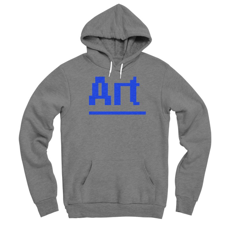 Art Men's Sponge Fleece Pullover Hoody by Make with Jake Nickell, The Coolest Dude on Earth!