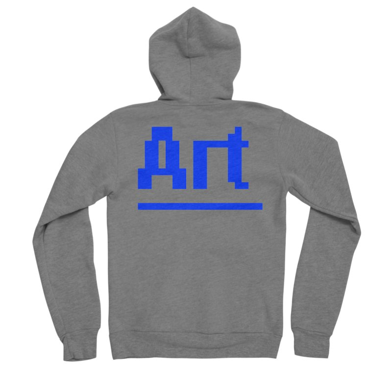 Art Men's Zip-Up Hoody by Make with Jake Nickell, The Coolest Dude on Earth!