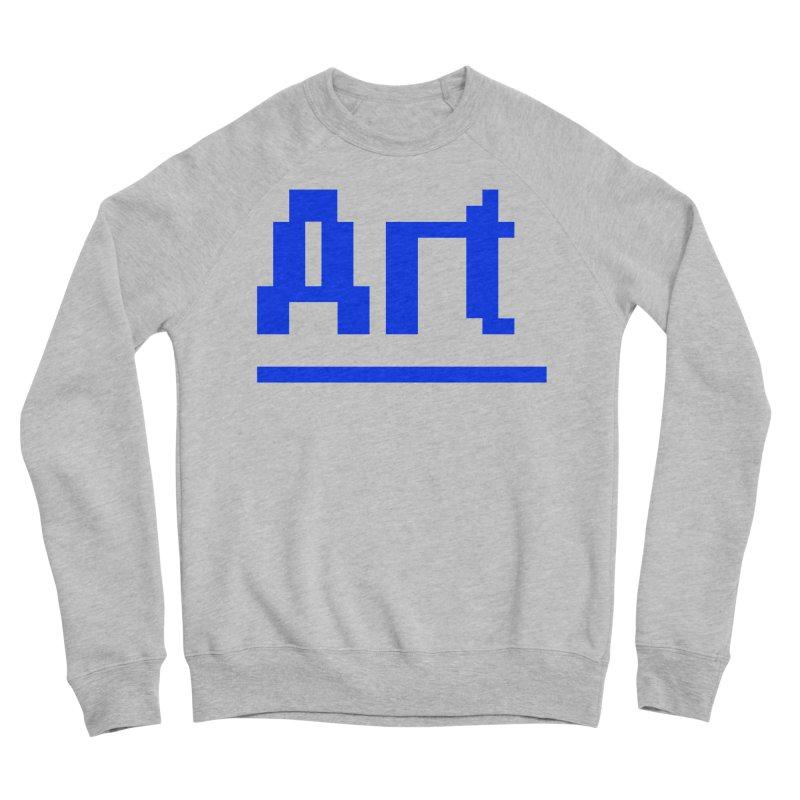 Art Men's Sponge Fleece Sweatshirt by Make with Jake Nickell, The Coolest Dude on Earth!