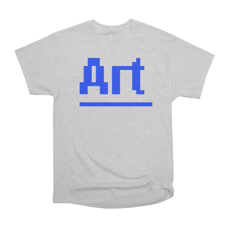 Art Men's Heavyweight T-Shirt by Make with Jake Nickell, The Coolest Dude on Earth!