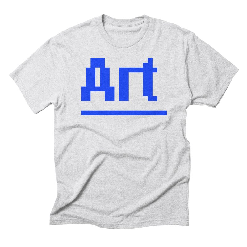 Art Men's Triblend T-Shirt by Make with Jake Nickell, The Coolest Dude on Earth!