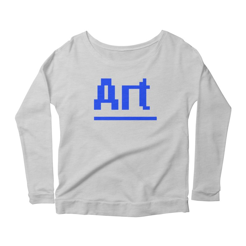 Art Women's Longsleeve T-Shirt by Make with Jake Nickell, The Coolest Dude on Earth!