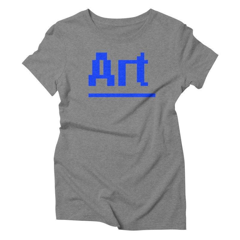 Art Women's Triblend T-shirt by Jake Nickell