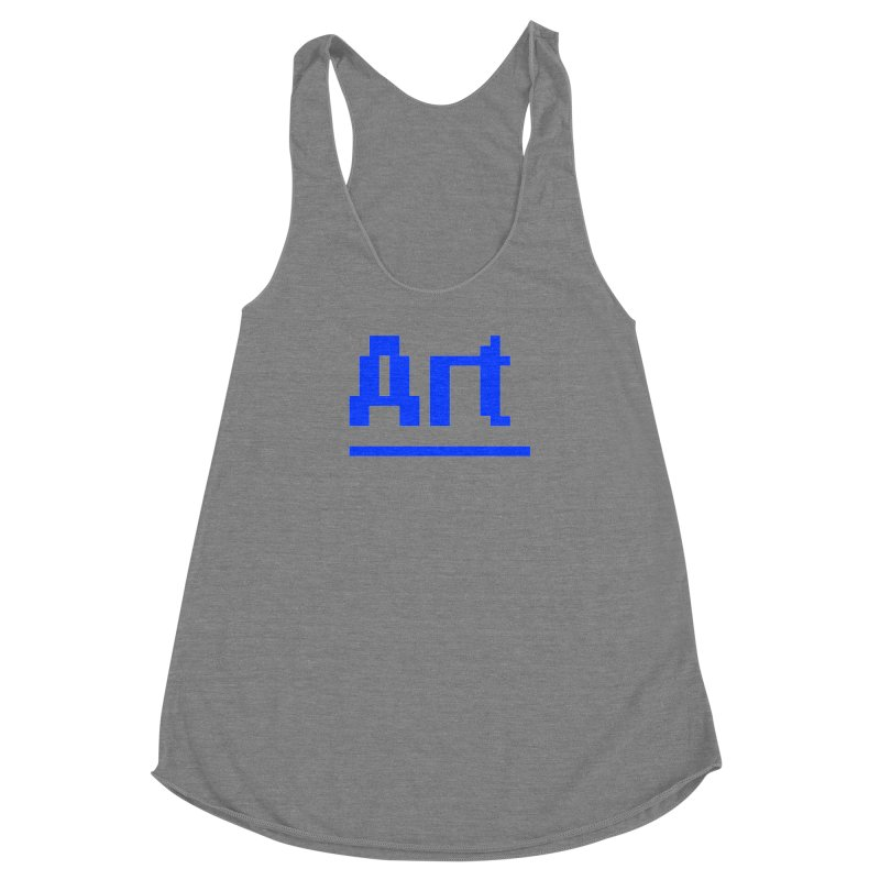 Art Women's Racerback Triblend Tank by Make with Jake Nickell, The Coolest Dude on Earth!