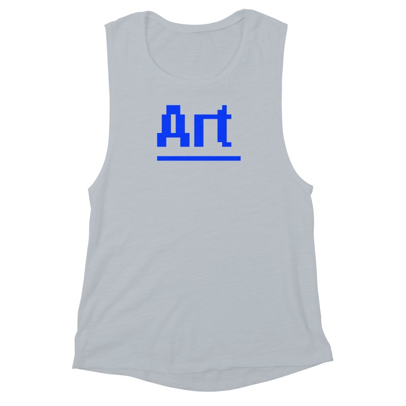 Art Women's Muscle Tank by Make with Jake Nickell, The Coolest Dude on Earth!
