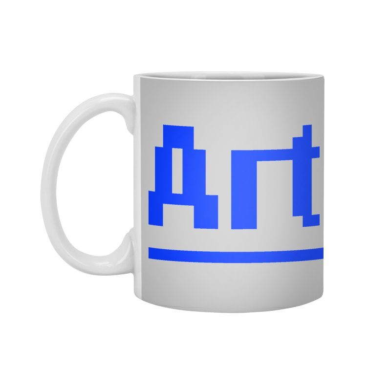 Art Accessories Standard Mug by Make with Jake Nickell, The Coolest Dude on Earth!