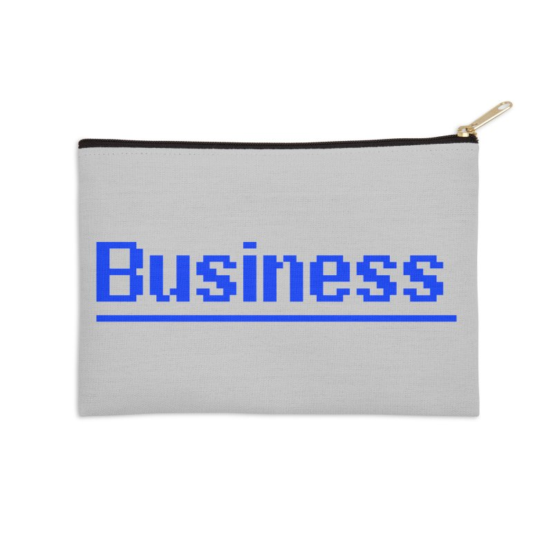 Business Accessories Zip Pouch by Jake Nickell