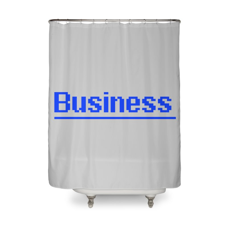 Business Home Shower Curtain by Jake Nickell