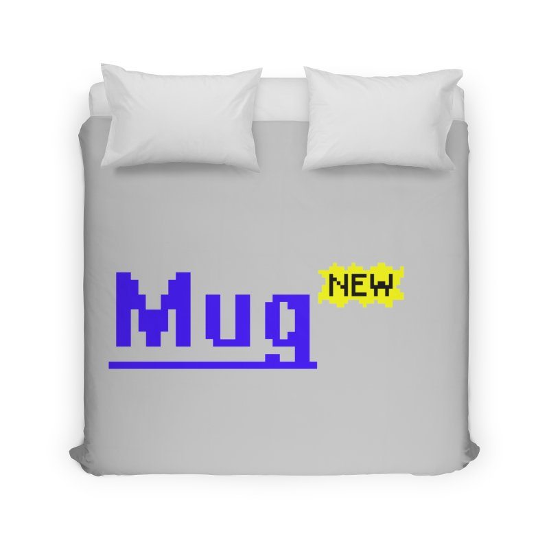 Mug Home Duvet by Jake Nickell