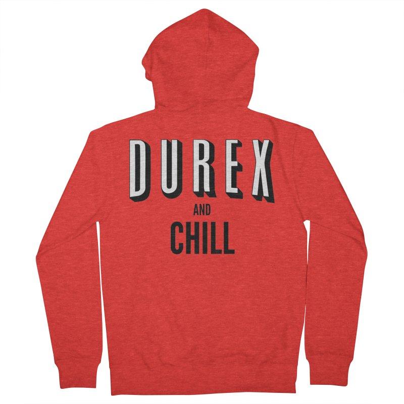 Durex and Chill Women's Zip-Up Hoody by JalbertAMV's Artist Shop