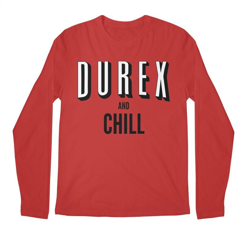 Durex and Chill Men's Longsleeve T-Shirt by JalbertAMV's Artist Shop