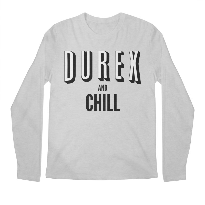 Durex and Chill Men's Regular Longsleeve T-Shirt by JalbertAMV's Artist Shop