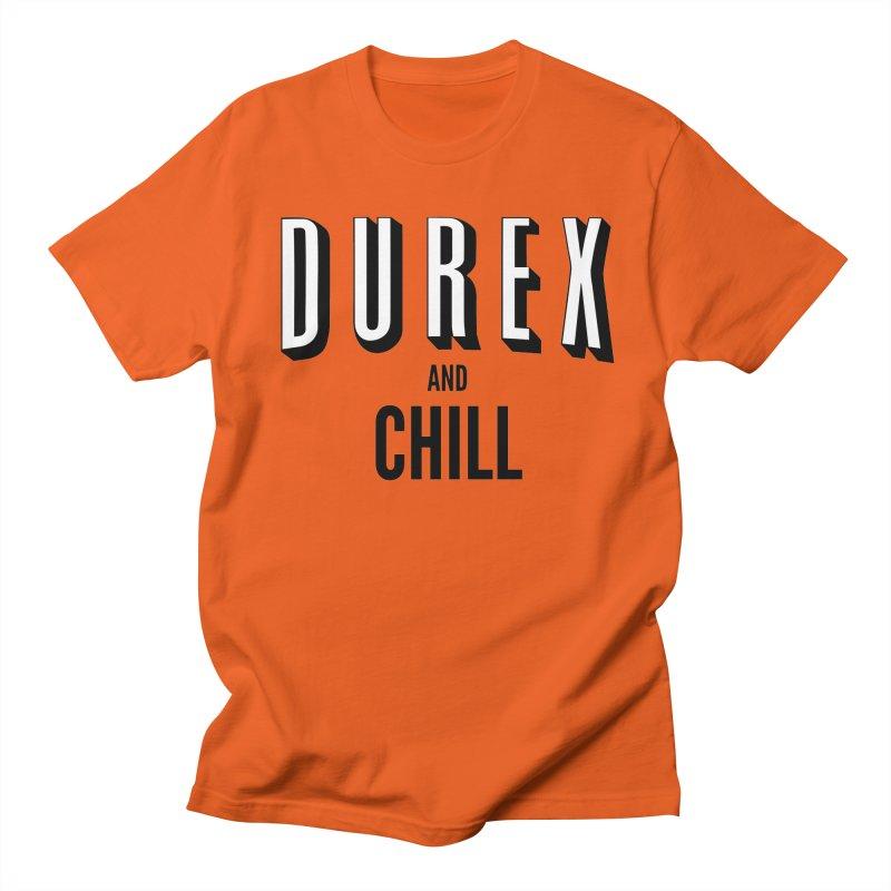 Durex and Chill Women's Regular Unisex T-Shirt by JalbertAMV's Artist Shop