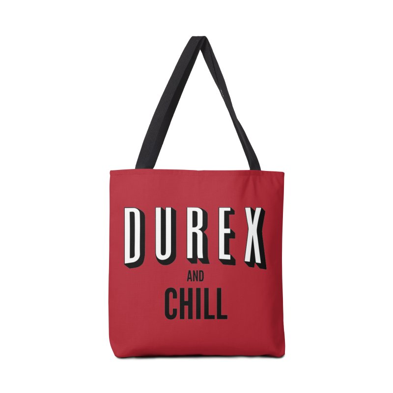 Durex and Chill Accessories Tote Bag Bag by JalbertAMV's Artist Shop