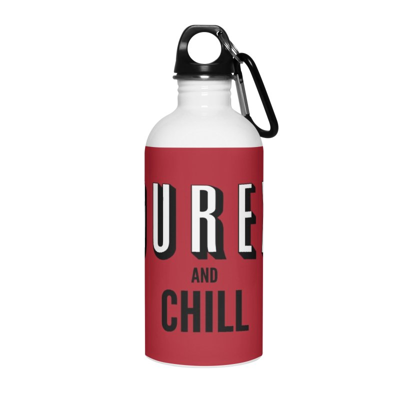 Durex and Chill Accessories Water Bottle by JalbertAMV's Artist Shop