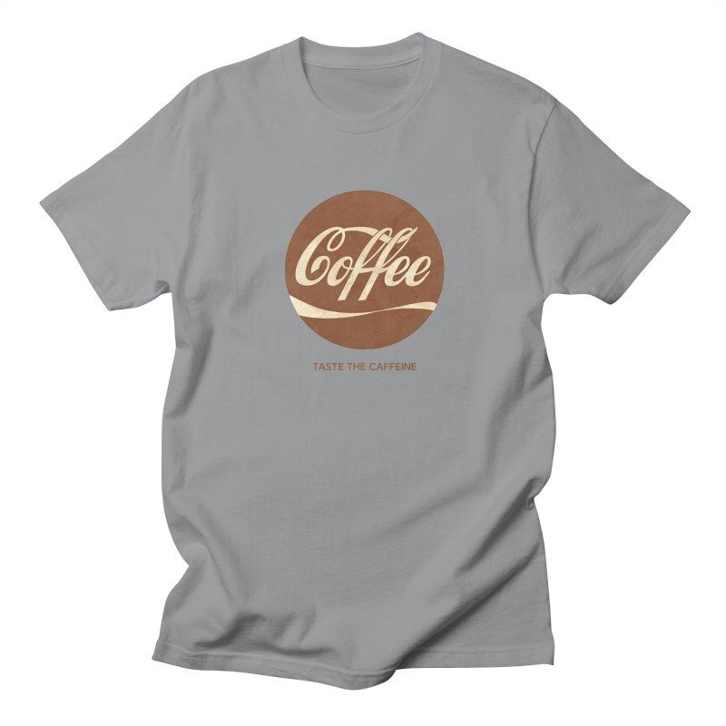 Taste the Caffeine Women's Regular Unisex T-Shirt by JalbertAMV's Artist Shop