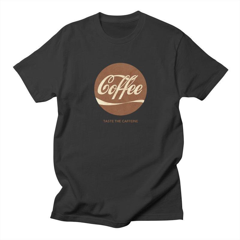 Taste the Caffeine Women's Unisex T-Shirt by JalbertAMV's Artist Shop
