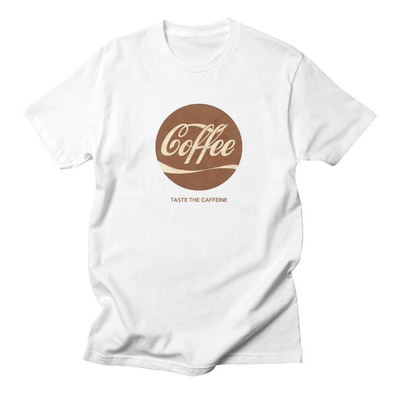 Taste the Caffeine Men's Regular T-Shirt by JalbertAMV's Artist Shop
