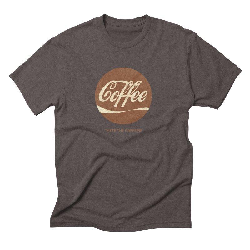 Taste the Caffeine Men's Triblend T-Shirt by JalbertAMV's Artist Shop