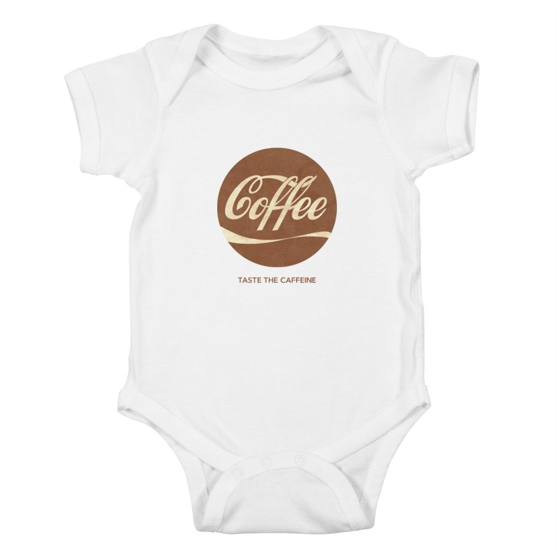 Taste the Caffeine Kids Baby Bodysuit by JalbertAMV's Artist Shop