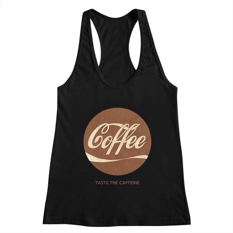 Taste the Caffeine Women's Tank by JalbertAMV's Artist Shop