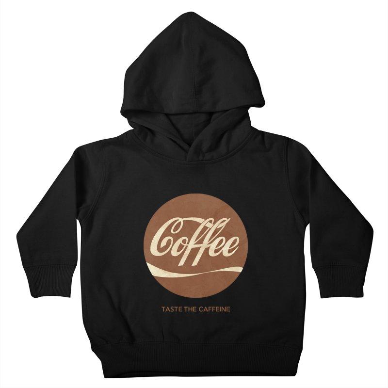 Taste the Caffeine Kids Toddler Pullover Hoody by JalbertAMV's Artist Shop