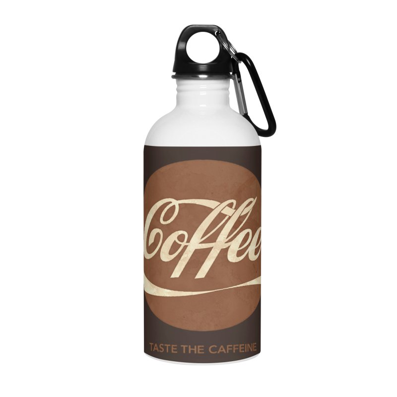 Taste the Caffeine Accessories Water Bottle by JalbertAMV's Artist Shop