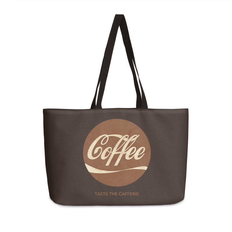 Taste the Caffeine Accessories Weekender Bag Bag by JalbertAMV's Artist Shop