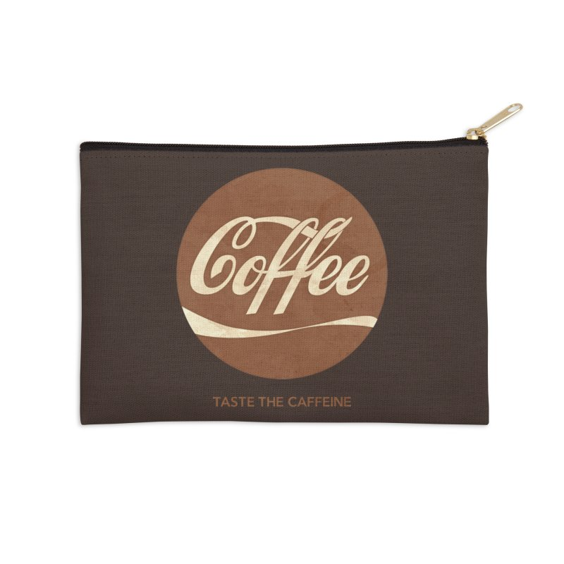 Taste the Caffeine Accessories Zip Pouch by JalbertAMV's Artist Shop