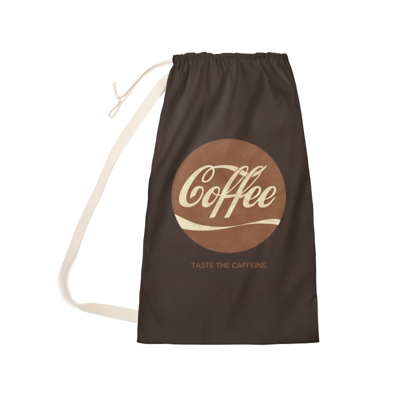 Taste the Caffeine Accessories Laundry Bag Bag by JalbertAMV's Artist Shop