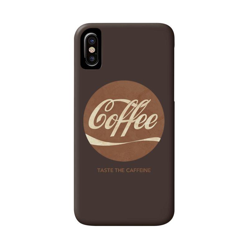 Taste the Caffeine Accessories Phone Case by JalbertAMV's Artist Shop