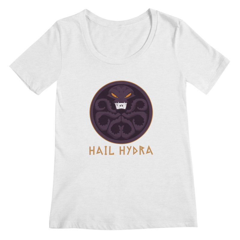 Hail HYDRA Women's Regular Scoop Neck by JalbertAMV's Artist Shop