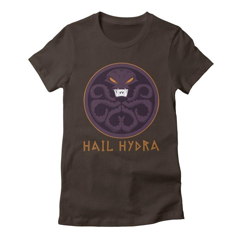 Hail HYDRA Women's Fitted T-Shirt by JalbertAMV's Artist Shop