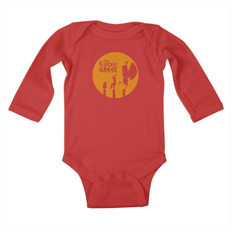 The Karate Greek Kids Baby Longsleeve Bodysuit by JalbertAMV's Artist Shop