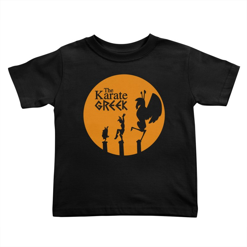 The Karate Greek Kids Toddler T-Shirt by JalbertAMV's Artist Shop