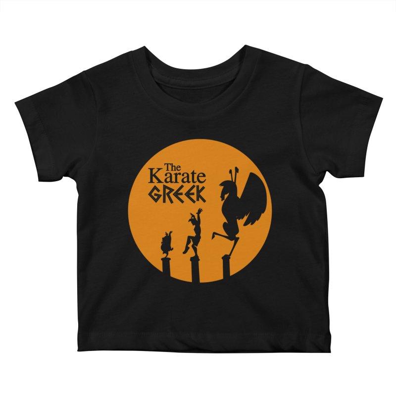 The Karate Greek Kids Baby T-Shirt by JalbertAMV's Artist Shop