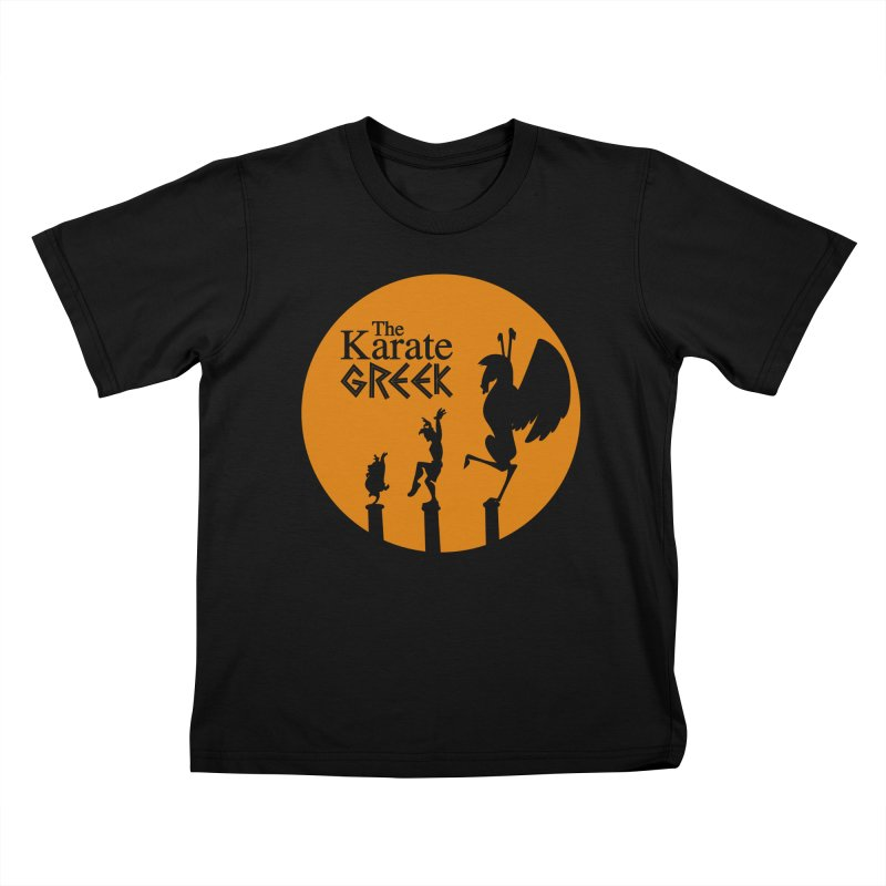 The Karate Greek Kids T-Shirt by JalbertAMV's Artist Shop
