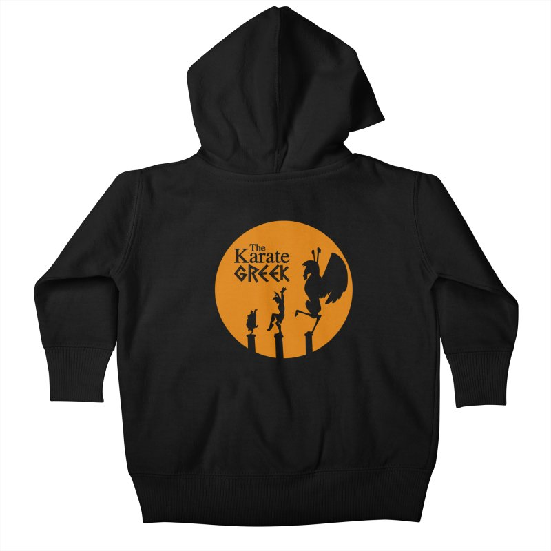 The Karate Greek Kids Baby Zip-Up Hoody by JalbertAMV's Artist Shop