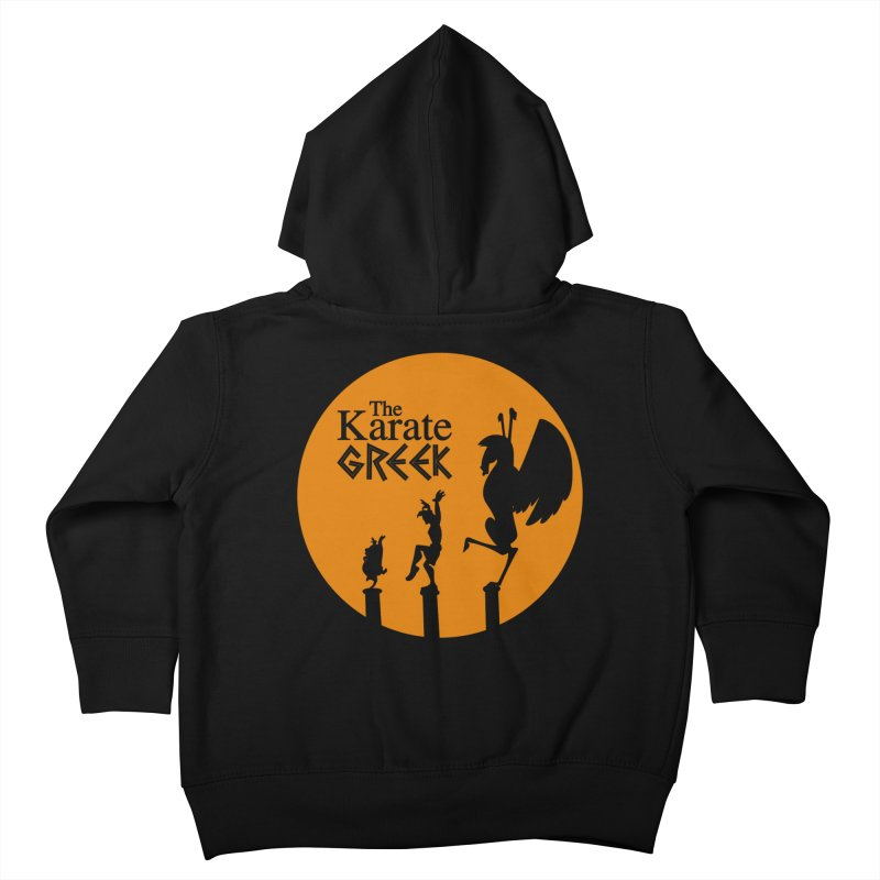 The Karate Greek Kids Toddler Zip-Up Hoody by JalbertAMV's Artist Shop