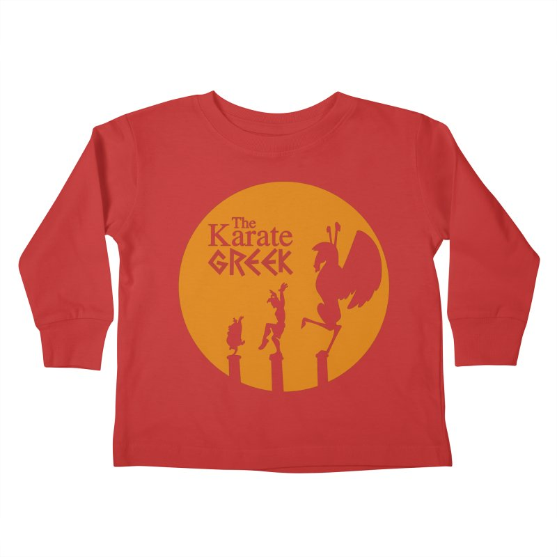 The Karate Greek Kids Toddler Longsleeve T-Shirt by JalbertAMV's Artist Shop