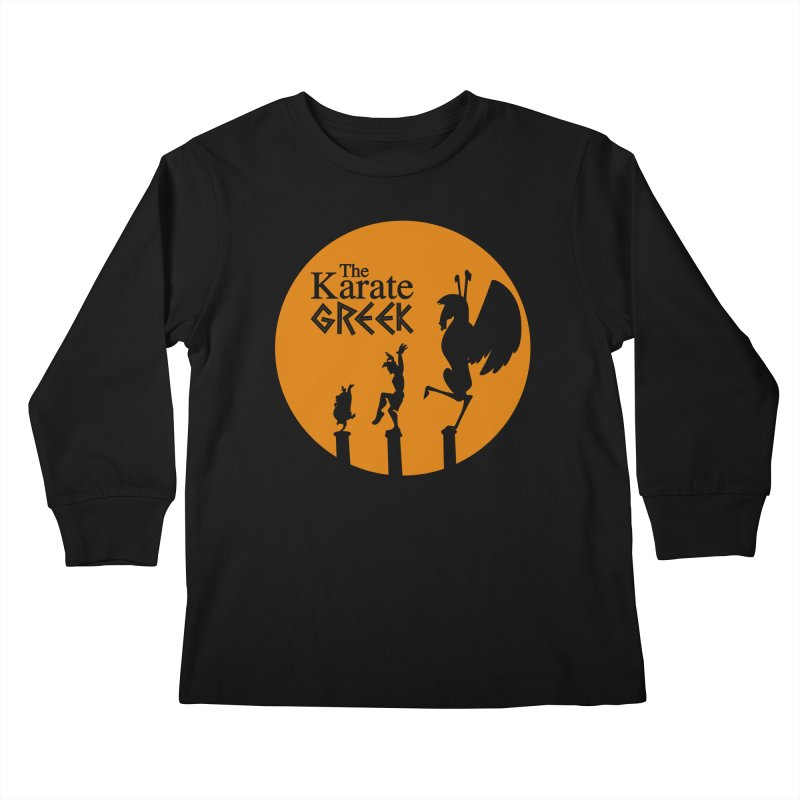 The Karate Greek Kids Longsleeve T-Shirt by JalbertAMV's Artist Shop