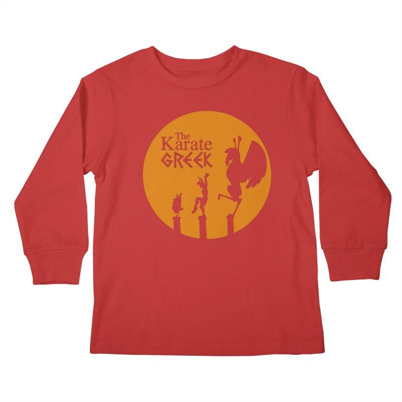 The Karate Greek Kids Longsleeve T-Shirt by JalbertAMV's Artist Shop