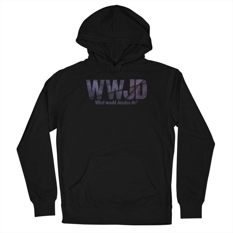 What Would Jessica Do? Men's Pullover Hoody by JalbertAMV's Artist Shop