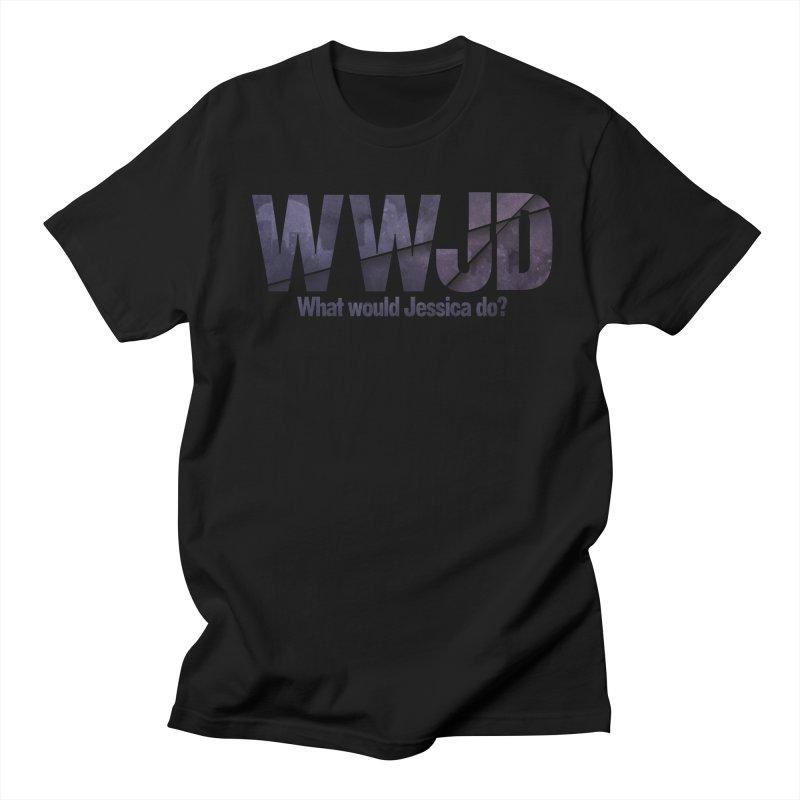 What Would Jessica Do? Men's T-Shirt by JalbertAMV's Artist Shop