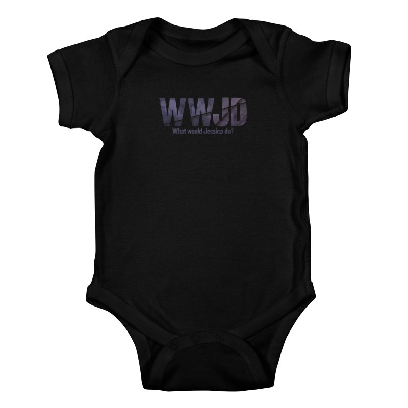 What Would Jessica Do? Kids Baby Bodysuit by JalbertAMV's Artist Shop