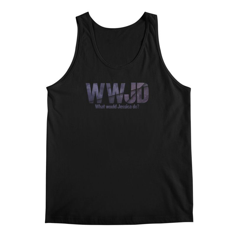 What Would Jessica Do? Men's Regular Tank by JalbertAMV's Artist Shop